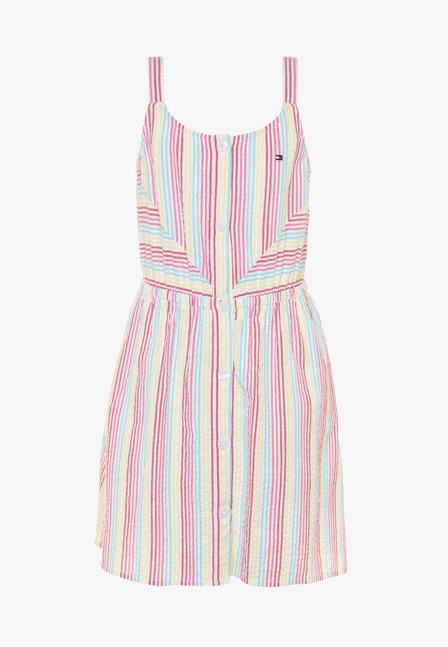 STRIPE DRESS  - Denní šaty - white