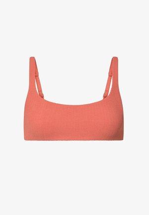 Bikini top - coral