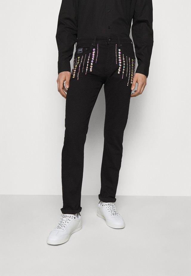 COAL - Jeans slim fit - black