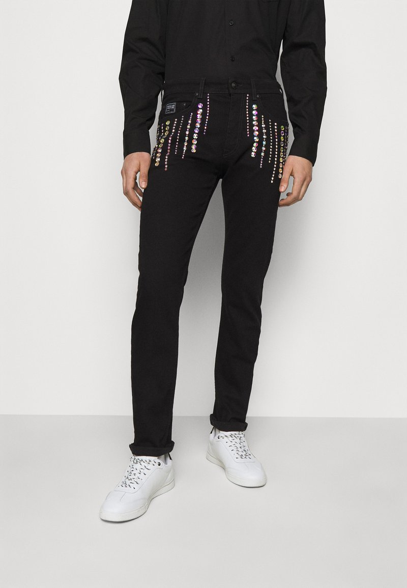 Versace Jeans Couture - COAL - Džíny Slim Fit - black
