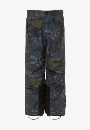 JUMP PRO - Snow pants - dark blue/dark green