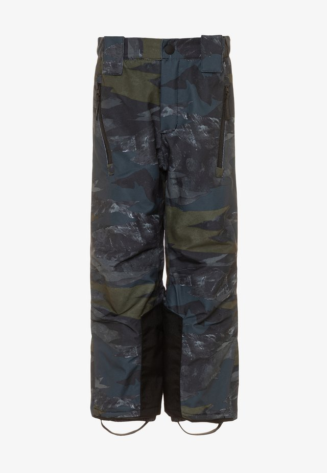 JUMP PRO - Pantaloni da neve - dark blue/dark green
