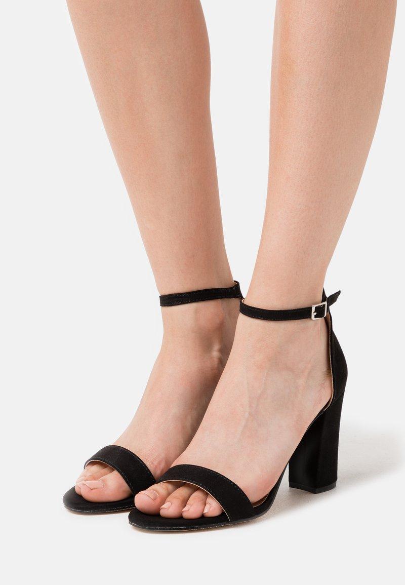 Madden Girl - BEELLA - Højhælede sandaletter / Højhælede sandaler - black