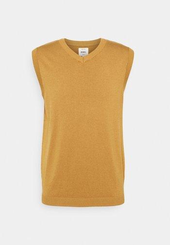 FREDDIE WAISTCOAT - Pullover - bone brown