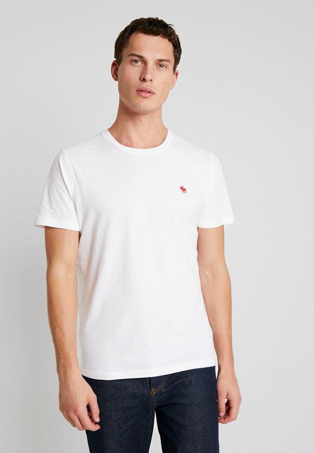 POP ICON CREW  - T-shirt basique - white