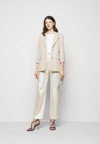 Sportmax - LACCA - Flared Jeans - silber - 1