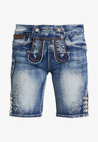 Marjo - FRANZISKA BERMUDA - Shorts - blau - 4