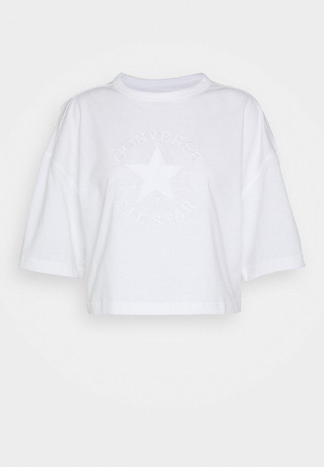 WOMENS PREMIUM TEE - Camiseta estampada - white