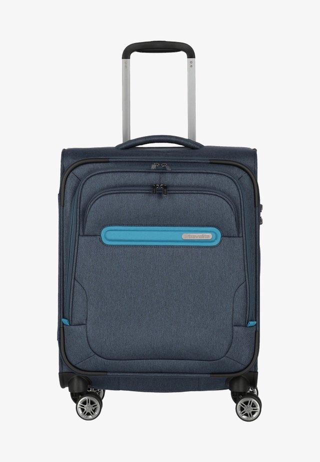 MADEIRA - Wheeled suitcase - marine/turquoise