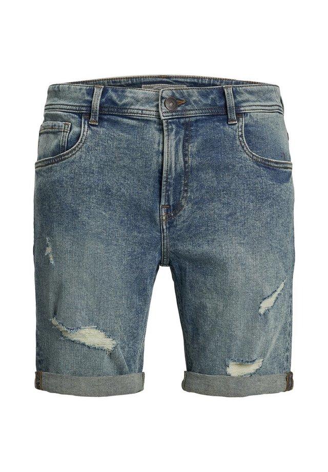 KLASSISCHE - Shorts vaqueros - light blue denim
