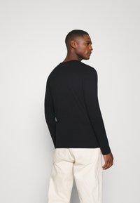 Teddy Smith - CLASS BASIC - T-shirt à manches longues - noir - 2