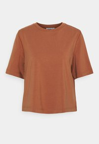 Weekday - TRISH - Basic T-shirt - brown - 5