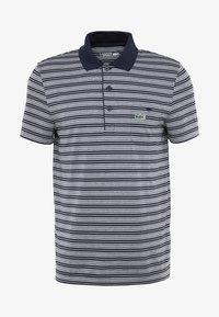 Lacoste Sport - STRIPE - Poloshirt - navy blue/white - 4