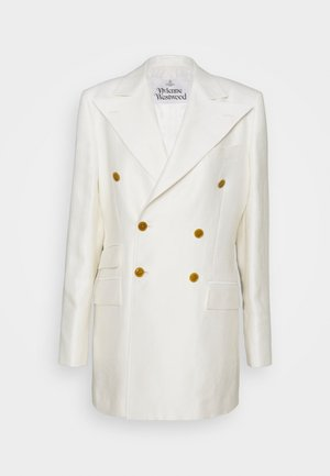 JACKET - Short coat - white