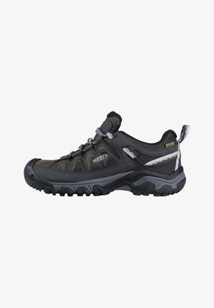 TARGHEE III WP - Hiking shoes - black/thistle