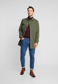 Selected Homme - SLHTIMES COAT  - Trench - forest night - 1