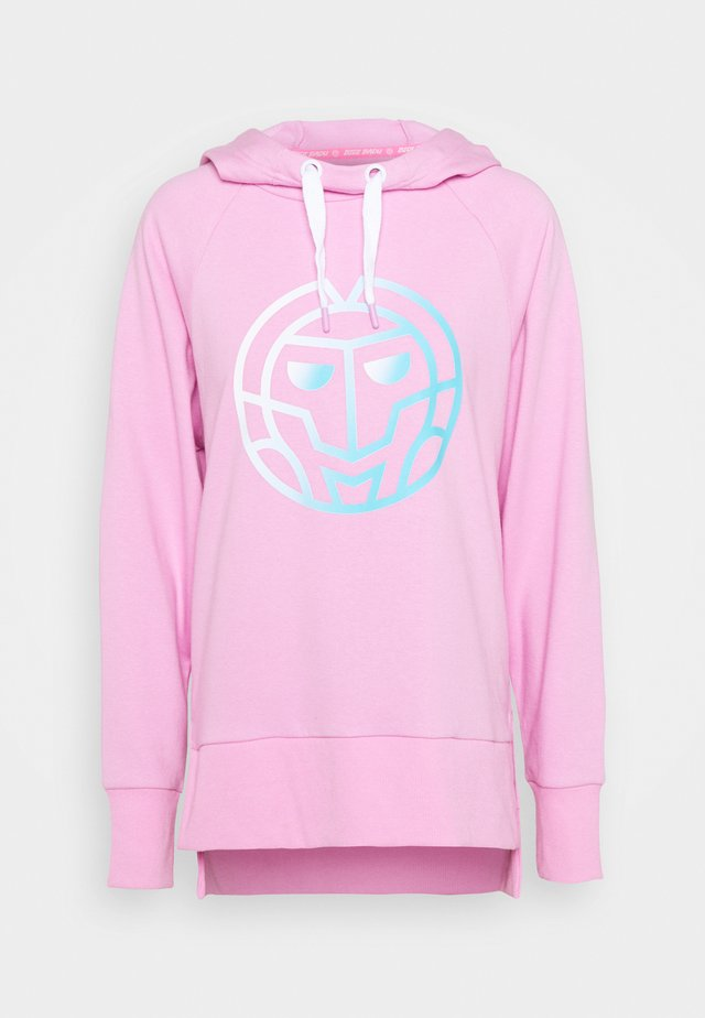 CYNTHIA BASIC LOGO HOODY - Sweat à capuche - rose