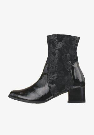 SAFIRA - Korte laarzen - schwarz