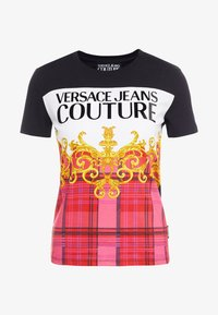 Versace Jeans Couture - Print T-shirt - pink - 3