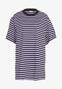 Monki - TORI TEE - Print T-shirt - purple/black - 0