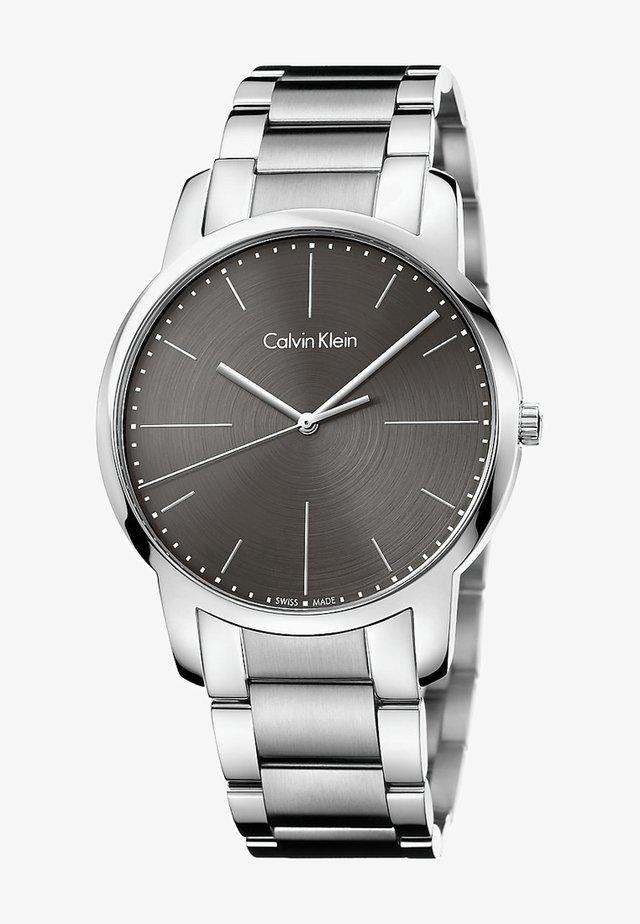 CITY  - Uhr - silver