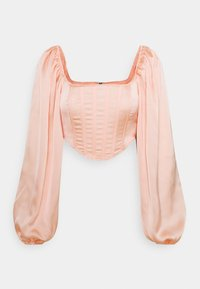 Missguided - BALLOON SLEEVE  - Long sleeved top - blush - 0