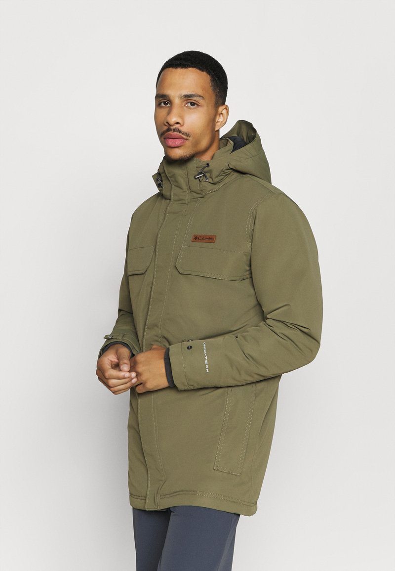 Columbia - RUGGED PATH - Parka - stone green