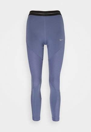 Leggings - world indigo/metallic silver