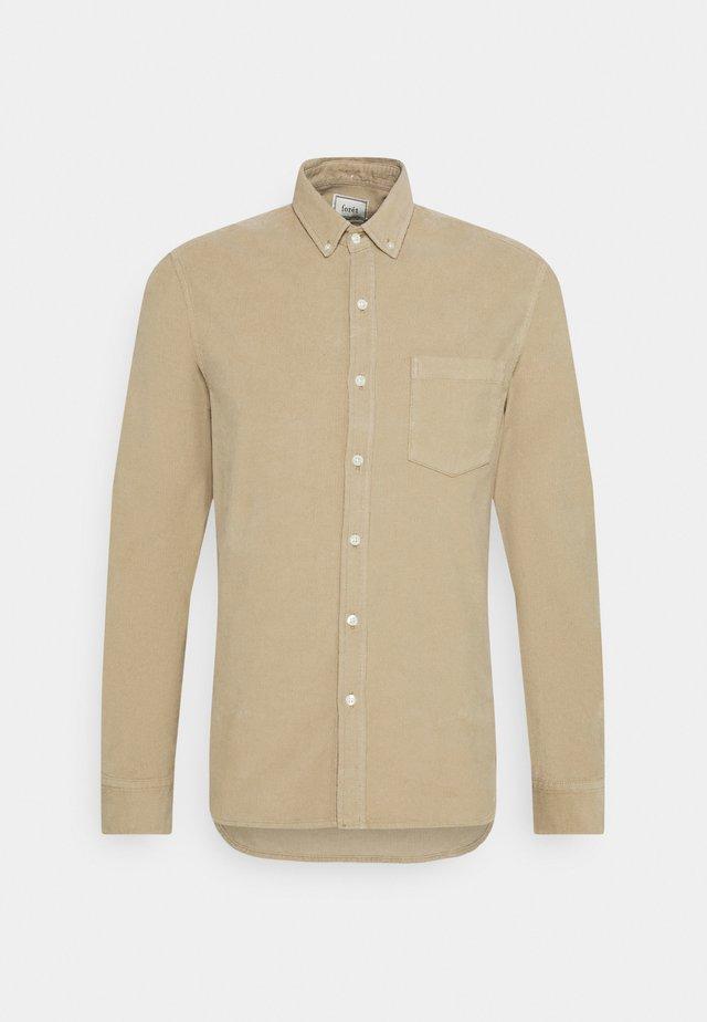 MOSS SHIRT - Shirt - beige