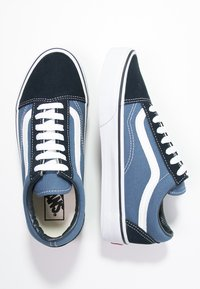 Vans - OLD SKOOL - Skateschoenen - navy - 5