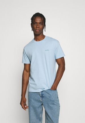 TEE POPINCOURT SWIPER UNISEX - T-shirt basic - pastel blue