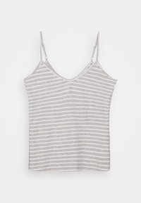 Marks & Spencer London - CAMI STRIPE  SET - Pyjamas - grey - 2