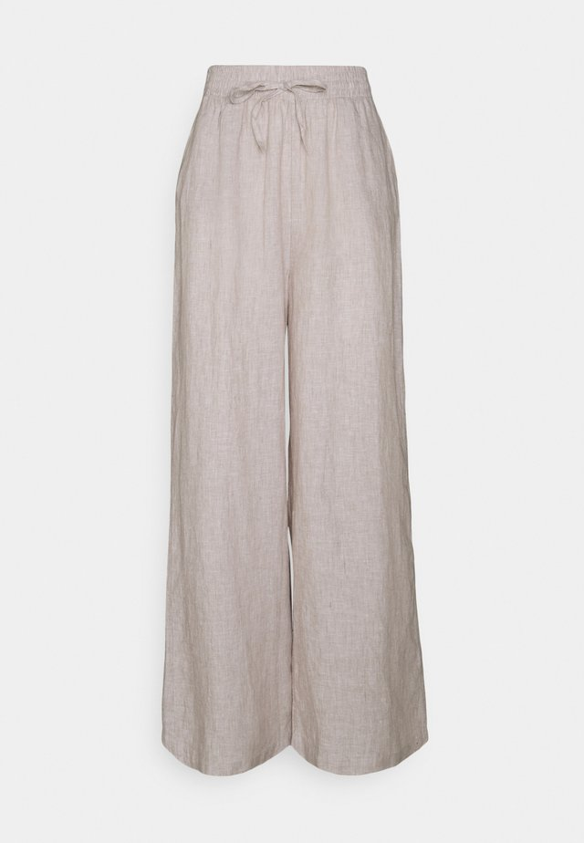 DISA TROUSERS - Pantaloni - beige