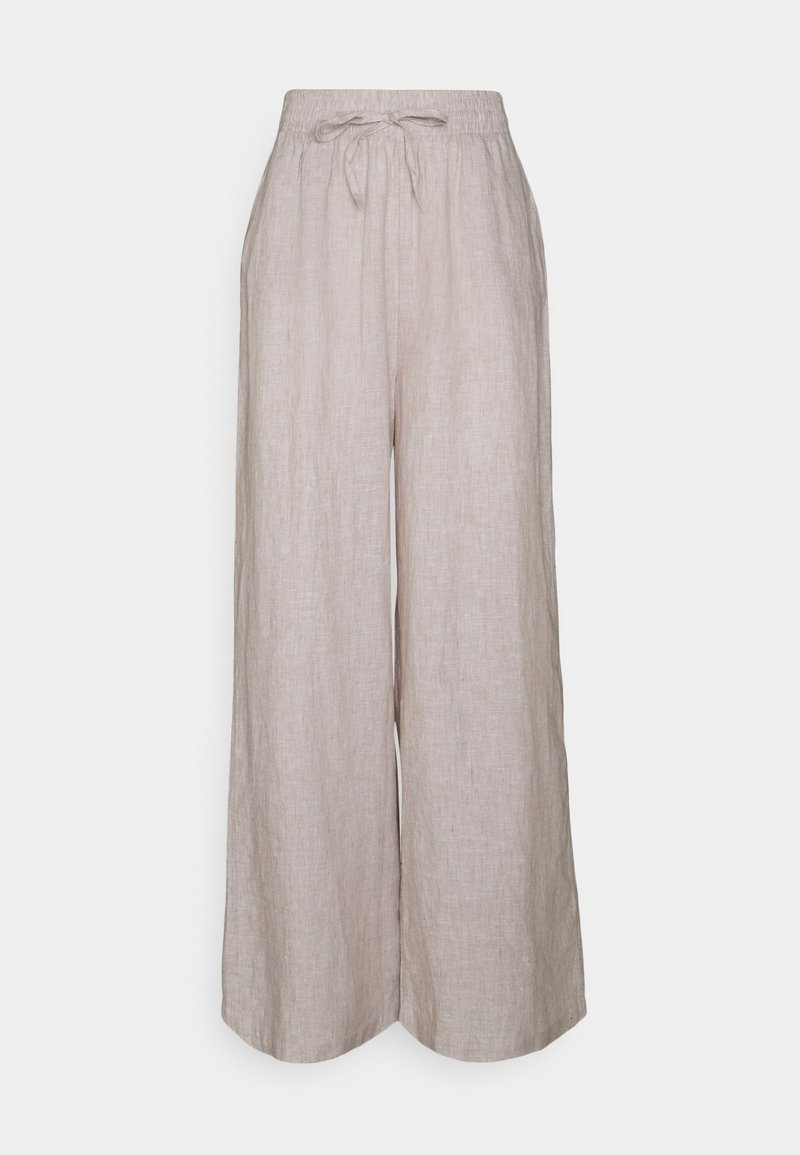 Gina Tricot - DISA TROUSERS - Trousers - beige