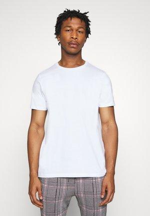 JORSANDER TEE CREW NECK - Printtipaita - white