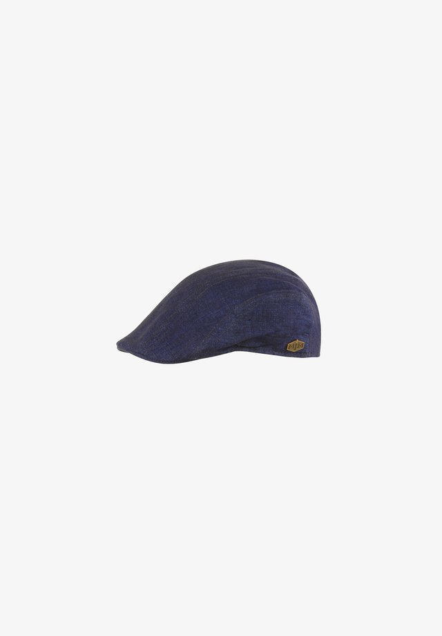 MADDY ECO LINEN - Beanie - blue