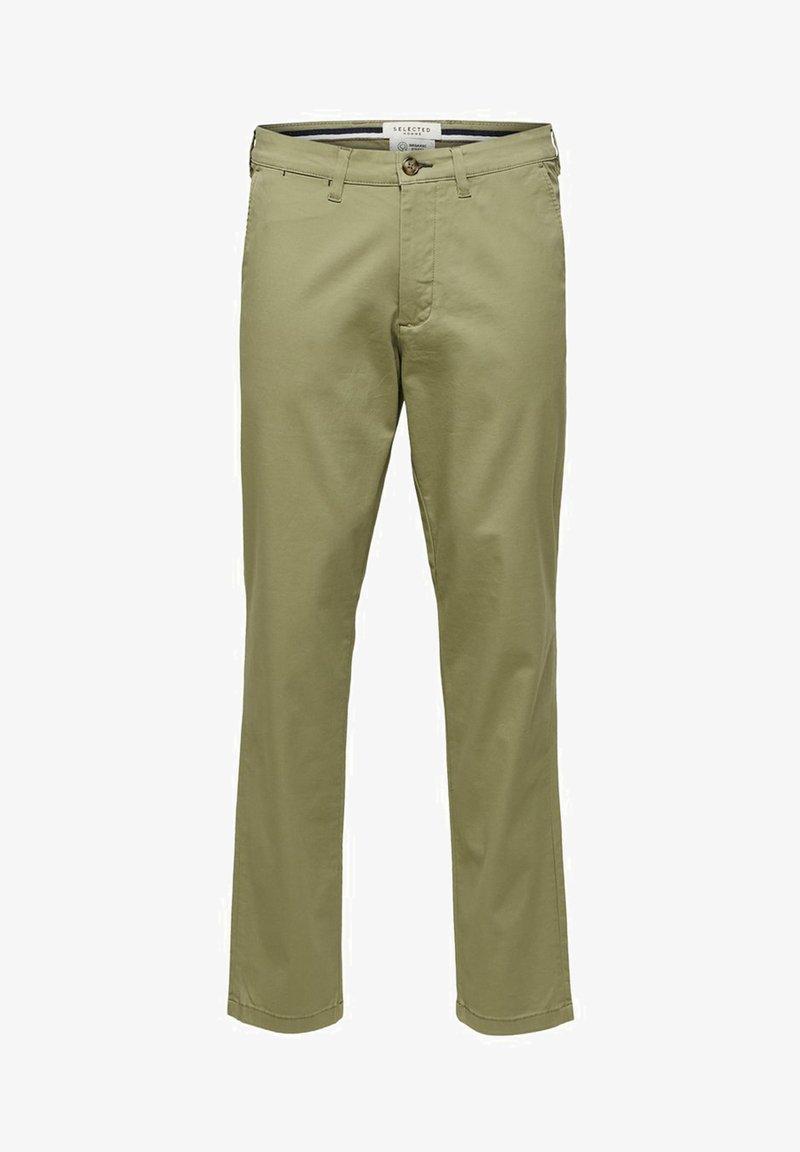 Selected Homme - SLHSLIM-MILES - Chino kalhoty - aloe