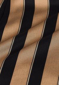 IVY & OAK - A-line skirt - dark toffee - 5