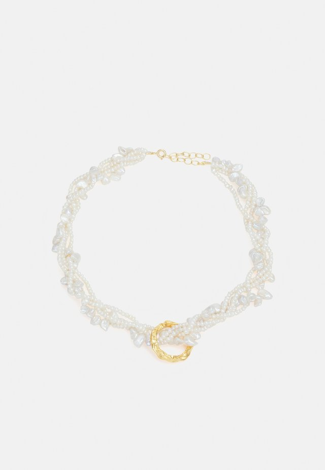 FULL MOON TANGLED NECKLACE - Collier - gold coloured