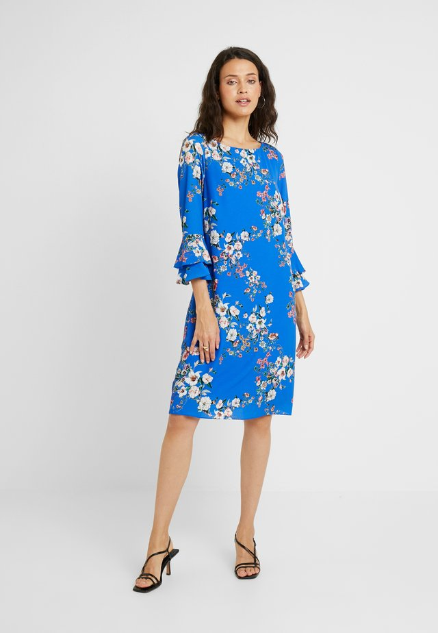 BOTANICAL MYKONOS DRESS - Kjole - blue