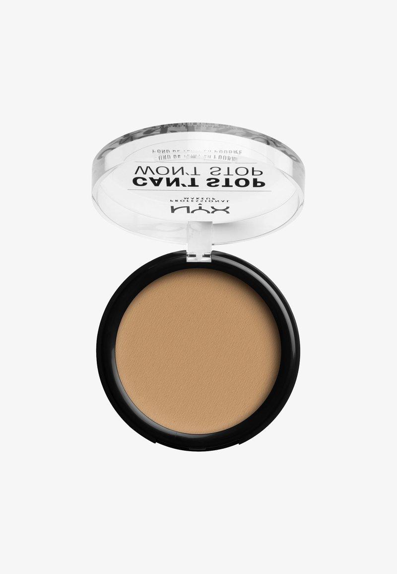 Nyx Professional Makeup - CAN'T STOP WON'T STOP POWDER FOUNDATION - Powder - CSWSPF7PT5 soft beige