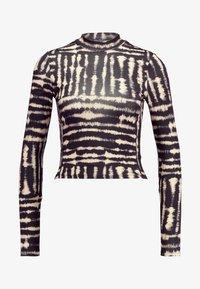 Miss Selfridge - DYE FUNNEL - Long sleeved top - multi - 4