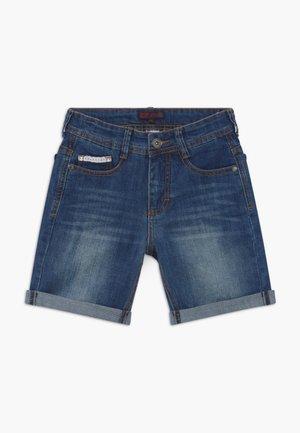 TEEN BOYS BERMUDA - Džínové kraťasy - dark blue