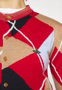 Vivienne Westwood - LADY HARLEQUIN CARDIGAN - Cardigan - arlecchino - 4