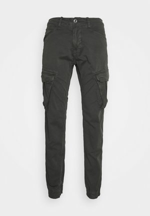 SPY PANT - Pantalones cargo - greyblack