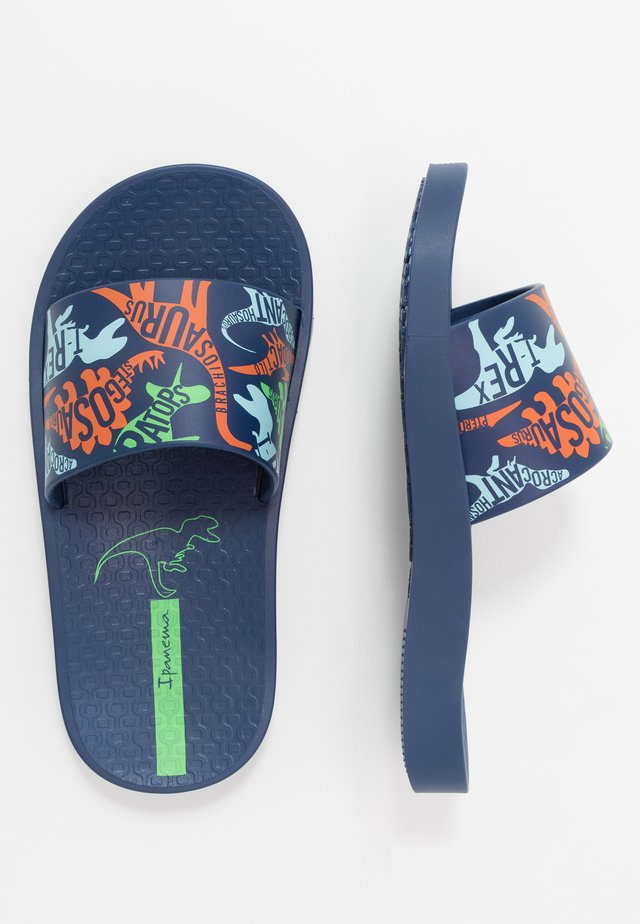 IPANEMA URBAN SLIDE KIDS - Rantasandaalit - blue