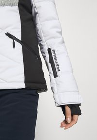 Superdry - SNOW LUXE PUFFER - Skijakke - white - 5