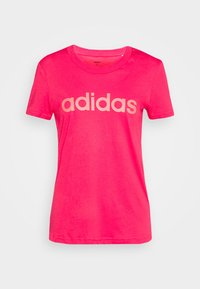 adidas Performance - ESSENTIALS SPORTS SLIM SHORT SLEEVE TEE - Camiseta estampada - powerpink/signalpink - 4