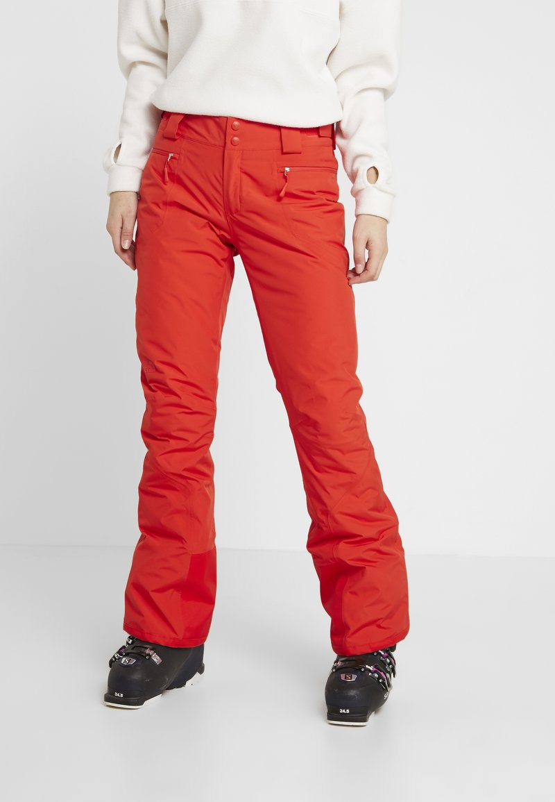 The North Face - PRESENA PANT - Ski- & snowboardbukser - fiery red