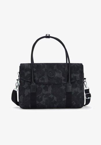 SUPERWORKER S - Laptop bag - mysterious grid